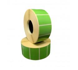 Цветная термоэтикетка T.ECO 40х25мм (зеленый)