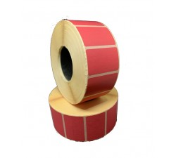 Цветная термоэтикетка T.ECO 40х25мм (малиновый)