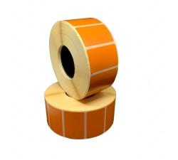 Цветная термоэтикетка T.ECO 40х25мм (оранжевый)