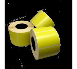 Цветная термоэтикетка T.ECO 58х40мм (яркий жёлтый)