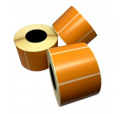 Цветная термоэтикетка T.ECO 58х40мм (оранжевый)