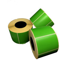 Цветная термоэтикетка T.ECO 58х40мм (зелёный)