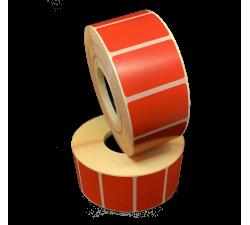 Цветная термоэтикетка T.ECO 40х25мм (красный)