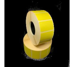 Цветная термоэтикетка T.ECO 40х25мм (жёлтый)
