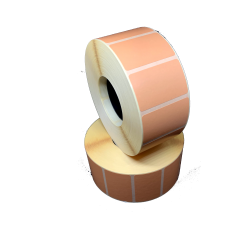 Цветная термоэтикетка T.ECO 40х25мм (розовый бледный)