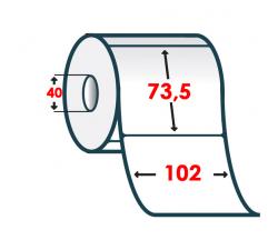 Термоэтикетка T.ECO 102x73,5мм