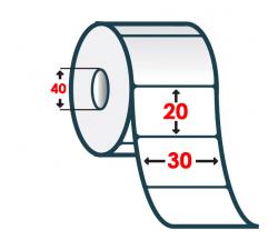 Термоэтикетка T.ECO 30х20мм