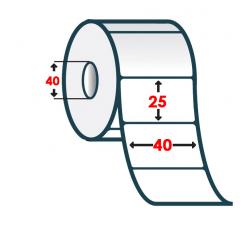 Термоэтикетка T.ECO 40х25мм