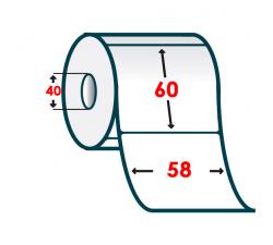 Термоэтикетка T.ECO 58х60мм