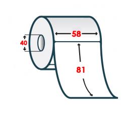 Термоэтикетка T.ECO 58х81мм