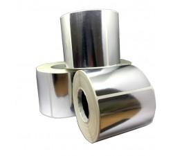 Полипропиленовая металлизированная этикетка 75х50мм