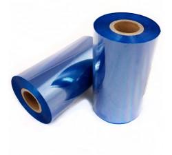 Красящая лента (риббон) RESIN TEXTILE голубой 35мм/300м