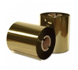 Красящая лента (риббон) RESIN TEXTILE золотой 30мм/300м