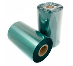 Красящая лента (риббон) RESIN TEXTILE зеленый 30мм/300м