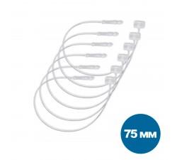 Кольцевая застежка для бирок (75мм, 1000шт)